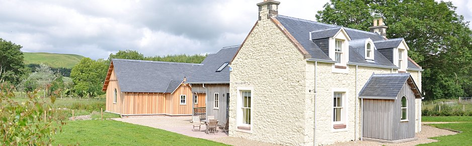 Holiday Cottage on River Stinchar, Ayrshire
